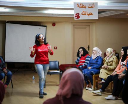SC Egypt concludes Speak Up Campaign with the 16 Days of Activism